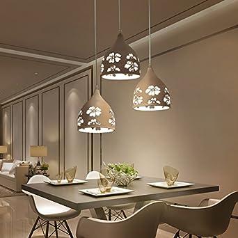 OWO Einfache moderne LED-Leiste drei Mahlzeiten hängende Modern ...