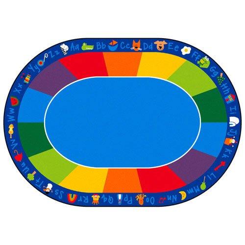 (Carpets for Kids 9616 Printed Fun with Phonics Horizontal Kids Rug Size: 8'3