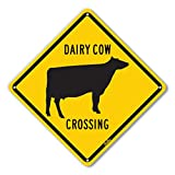 "PetKa Signs and Graphics PKAC-0020-NA_10x10""Dairy"