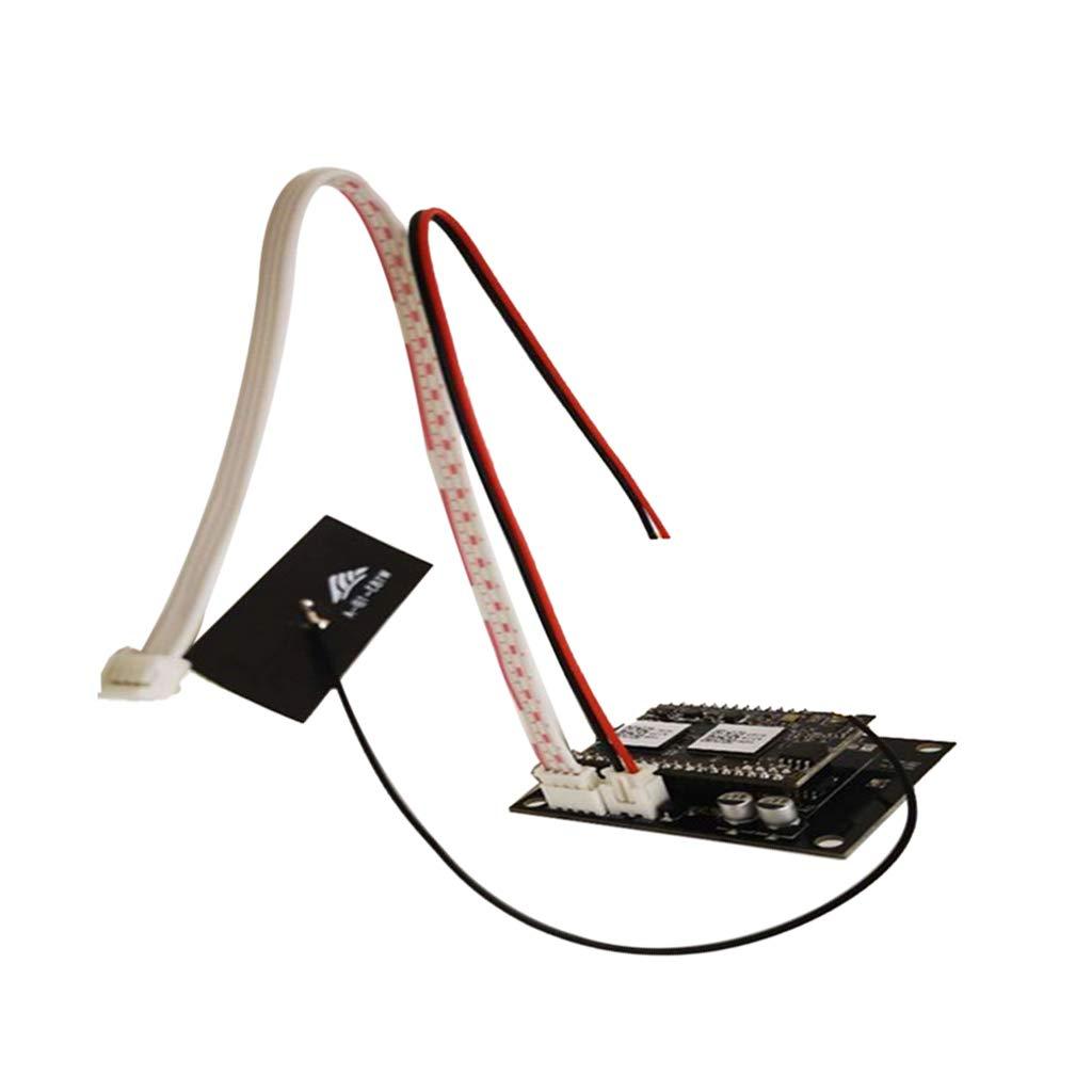 P PRETTYIA M/ódulo Placa Receptor Inal/ámbrico de Audio WIFI Tarjeta DIY Apoya DLNA//Airplay//Qplay Piezas de Repuestos