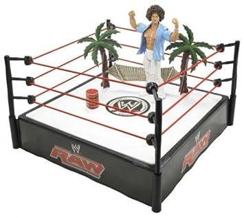 Wwe Wrestling Ring Mit Actionfigur Carlitoa S Cabana 18 Cm