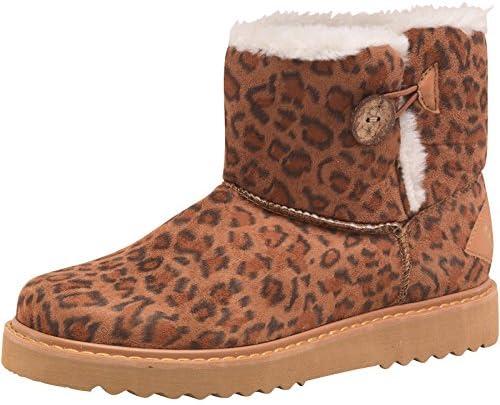 leopard print biker boots