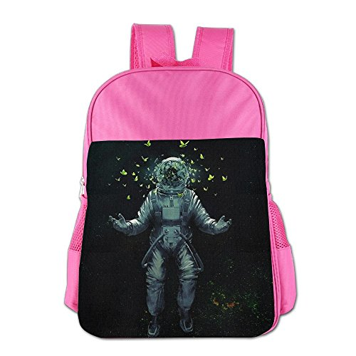 Dream Astronaut Butterfly Children's Backpack School Bag Suitable For 4-15 Year Olds