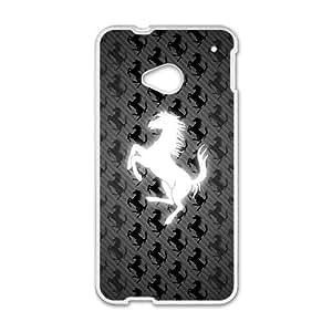 DAZHAHUI Ferrari sign fashion cell phone case for HTC One M7
