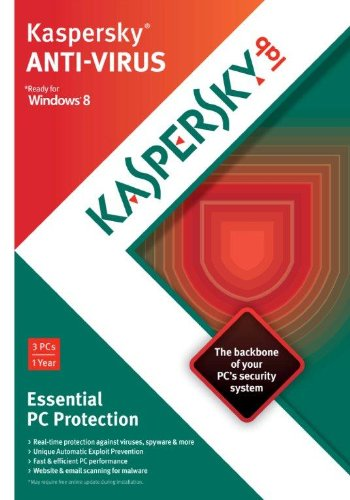 Kaspersky Anti-Virus 2013 – 3 Users