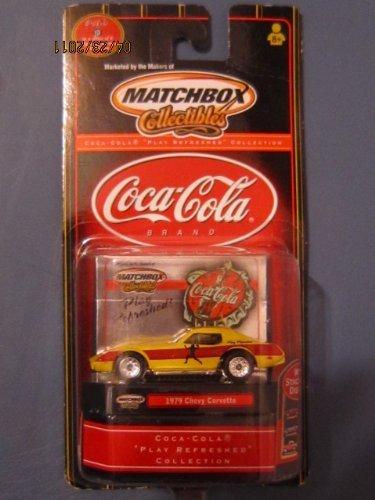 Matchbox Coca-Cola Polar Bear Fantasy Edition 1979 Chevy Corvette ()