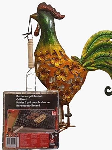 Nil BBQ Rôtissoire à poulet, support vertical pour friteuse à air   Accessoires et outils de barbecue