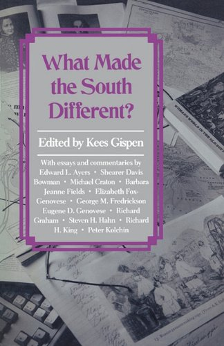 Books : What Made the South Different?