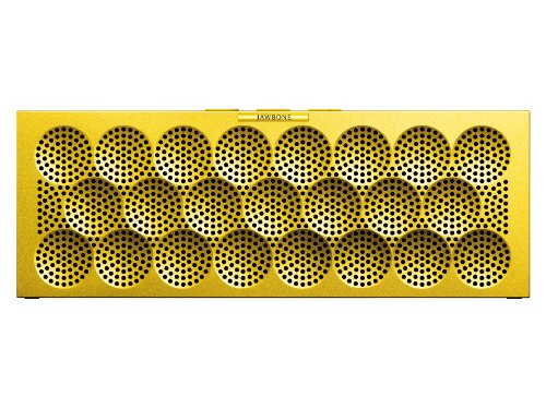 MINI JAMBOX by Jawbone Wireless Bluetooth Speaker - Yellow Dot - Retail - Jawbone Wireless Bluetooth