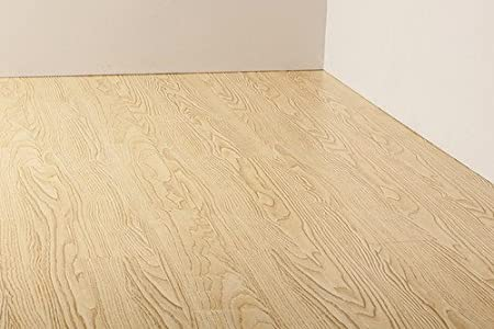 Real Wood Look Texture Co Ordinated And Raised Laminate Flooring Has