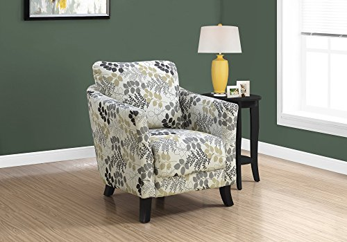 Monarch Specialties I I 8183 Accent Chair, Beige