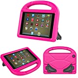 PC Hardware : Fire HD 8 Tablet Case,Koantree Kid-Proof Shockproof Protective Stand Cover Case for Amazon Fire 8 Inch Tablet (7th Generation,2017 Release) or (6th Gen,2016 Release) (Pink)