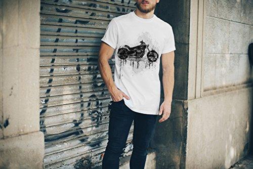 Harley Davidso T-Shirt Herren, Men mit stylischen Motiv von Paul Sinus