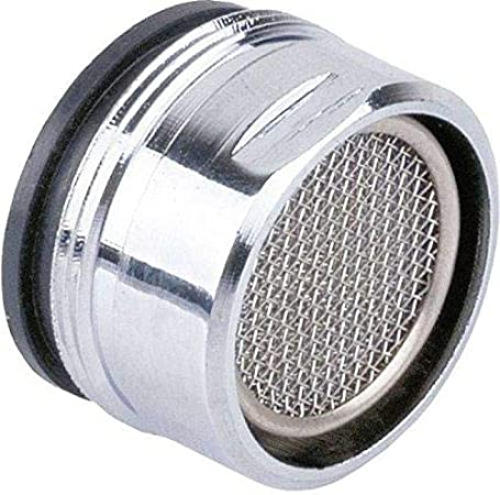 Tap Aerator 24 mm Chrome Plated Male Tread Anti Splash Water Saver Spout Filter Washer