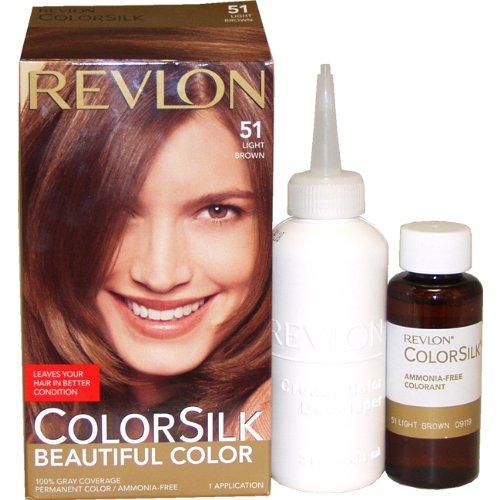 (Revlon Colorsilk Beautiful Color, 51 Light Brown)