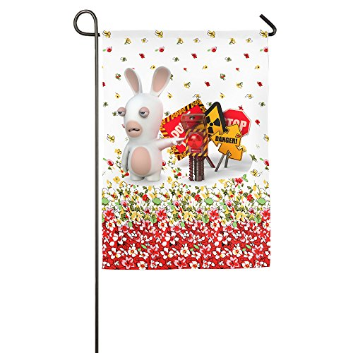 Cartoon Crazy Rabbit Gorgeous Family Party Flag]()
