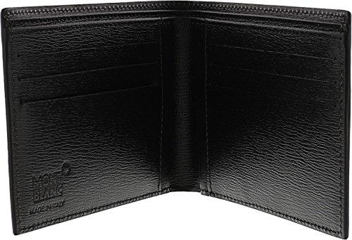 Mont Blanc negro horizontal cartera de Westside (38036 ...