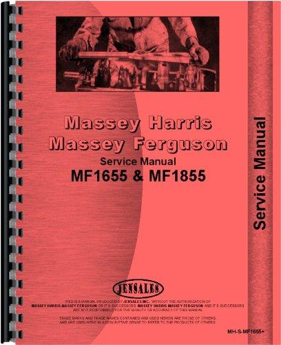 Download Massey Ferguson Lawn & Garden Tractor Service Manual (MH-S-MF1655+) pdf