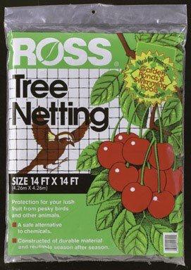 (Ross 15624 14' X 14' Tree Netting)
