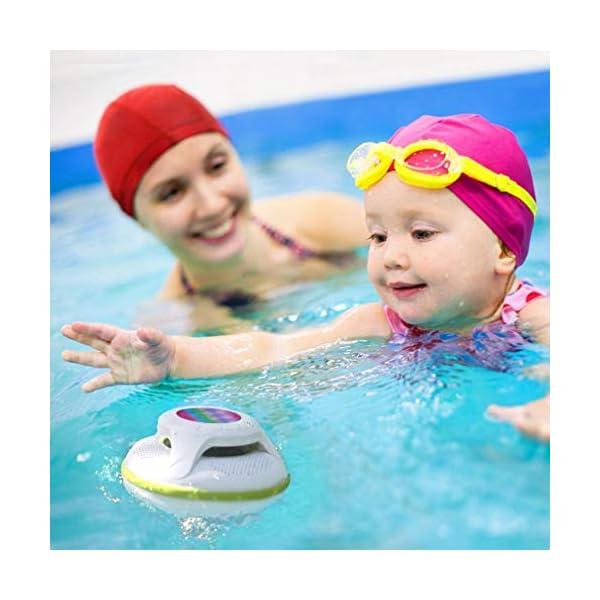 Floating Waterproof In The Pool