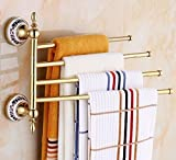 HOMEE Stainless Steel Bathroom Towel Rack
