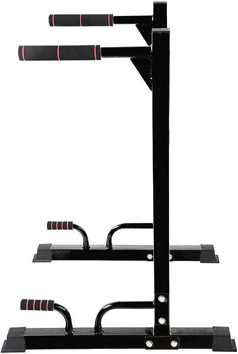lahomie Push Up Bars,2er Set Schwarz Dip Barren Dip Bar Multifunktions-Parallelbarren f/ür den Haushalt 300 kg Maximale Belastung f/ür K/örperliche /Übung Muskel/übung