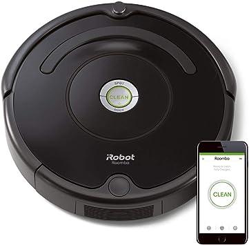 iRobot Roomba 675 Robot aspiradora Bundle – Wi-Fi Conectado, Ideal para Pelo de Mascotas (+3 Extra Edge Barrido) (8 Unidades): Amazon.es: Hogar