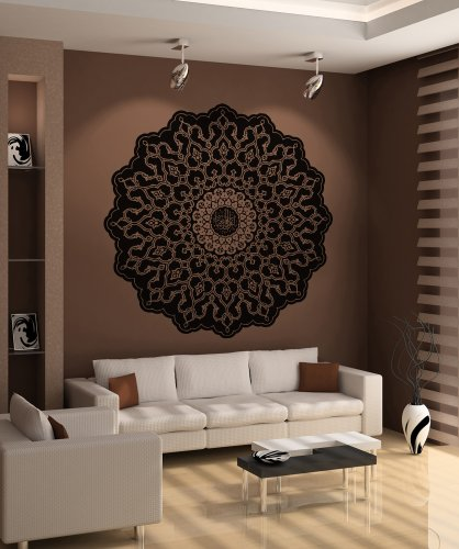 Home Décor Vinyl Wall Art Abstract Circle Design Wall Decal Sticker -