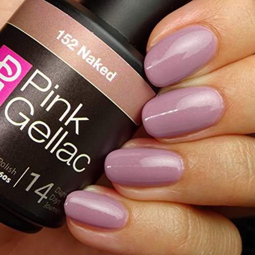 Pink Gellac #152 Naked European Soak-Off UV / LED Gel Polish