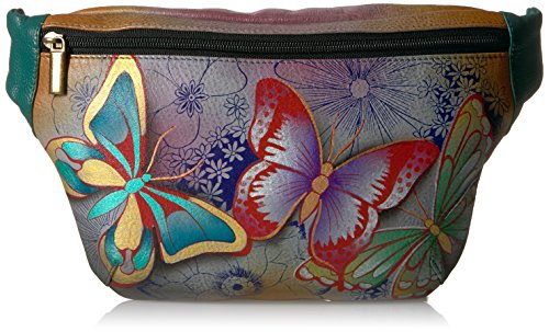 Anuschka Women's Hand Painted Leather Fanny (Hand Painted Leather Bags)