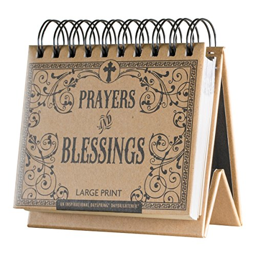 Prayers And Blessings (Flip Calendar - Prayers and Blessings Large Print)
