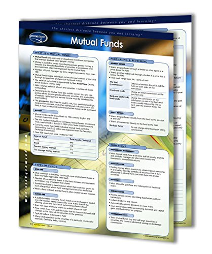 Mutual Funds Guide - Personal Finance Quick Reference Guide by Permacharts