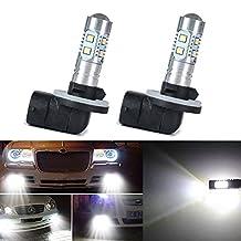 XT AUTO 2x 8000K White High Power 2323 SMD 881 886 889 894 LED Fog Driving Light Bulbs 1200LM
