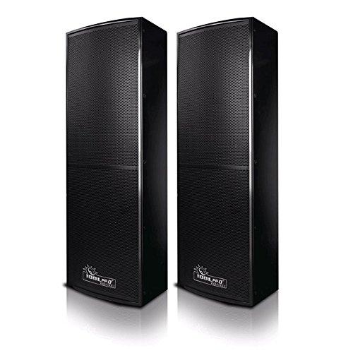 IDOLpro 1500W Professional Floor Standing Speakers - (Pair)