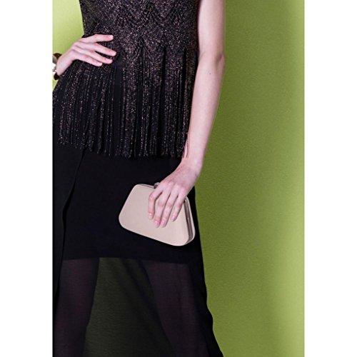 monnaie Porte femme CWE286 en Sac Porte monnaie sac d'embrayage Nude Sparkly main LeahWard pour à Evening Nude Fête nqp0w6B0a