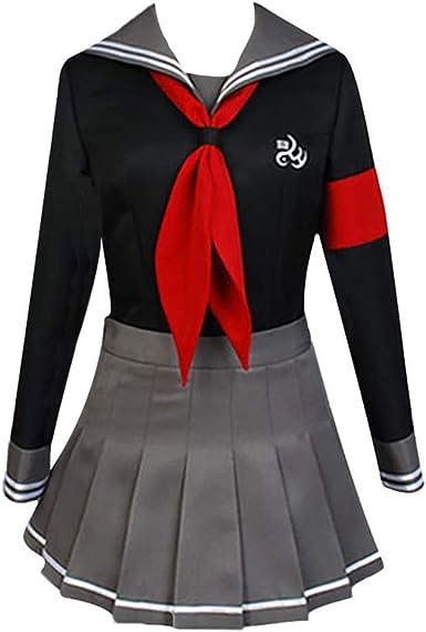 Amazon.com: Gegexli Anime Danganronpa Cosplay Costumes Peko Pekoyama Uniforms Halloween Party: Clothing