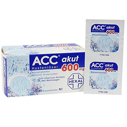 NAC Effervescent Tablets 600 mg 20 Tablets