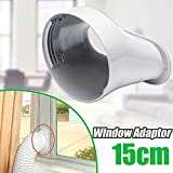 """yunbox299 1.3m Window Slide Kit Plate, Portable Air Conditioner Vent Kit, Match 15cm/5.91Inch Window Adapter, Exhaust Hose Connector Kit for Air Conditioner 1PC 15cm/5.91"""" Adaptor"""