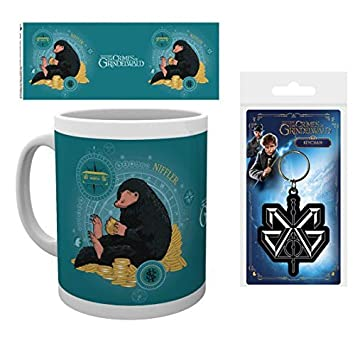 1art1® Set: Animales Fantásticos, 2, Escarbato Moneda Taza ...