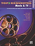 Movies Tv Best Deals - Top-Requested Movie and TV Sheet Music: Easy Piano