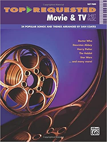 Top-Requested Movie & TV Sheet Music: Easy Piano (Top