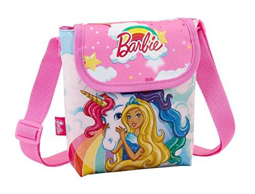 Barbie EInhorn Tasche Handtasche Schultertasche Umhängetasche 17x17x5 (3)