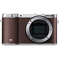 Samsung NX3000 NX3000BN Smart Camera (Body Only) - Brown - International Model - No Warranty