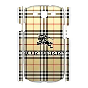 DIY Printed Burberry hard plastic case skin cover For Samsung Galaxy S3 I9300 SNQ142377