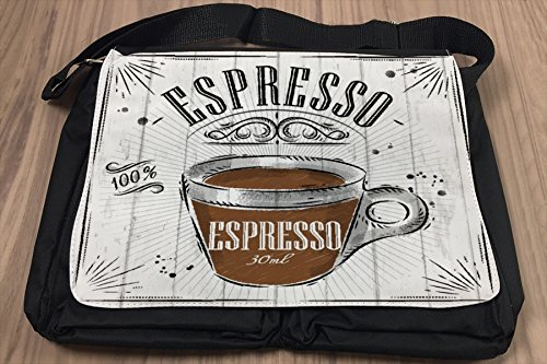 Borsa Tracolla Fun Cucina Caffè eSpresso Stampato
