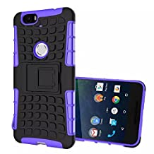 Nexus 6P Case, Topratesell Tough-tread Military Heavy Duty Dual Layer Rugged Protective Shockproof Case for Nexus 6P (Purple)
