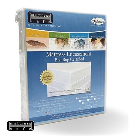 Anti Punaise De Lit Housses De Matelas Mattress Safe 160 X 200 X17