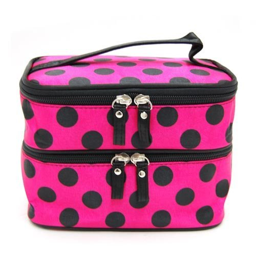 Hearts Shop Women Make Up Bag Toiletry Holiday Travel Pouch Makeup Storage Bag