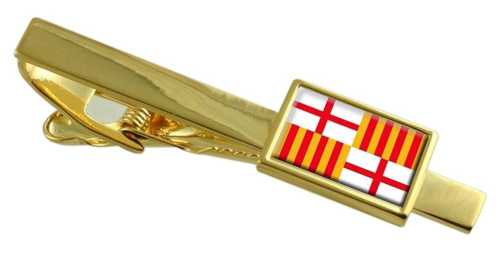 Select Gifts Barcelona Ciudad Bandera España Clip de Corbata de ...