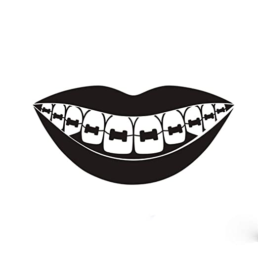 guijiumai Dctal Cepillo de Dientes Pegatina de Dientes Dentista ...